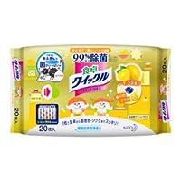 【花王】食卓クイックル クロス 20枚入 レモンの香り 20枚 ×20個セット