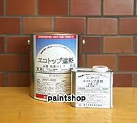 東日本塗料 エコトップ遮熱 4kgセット 白