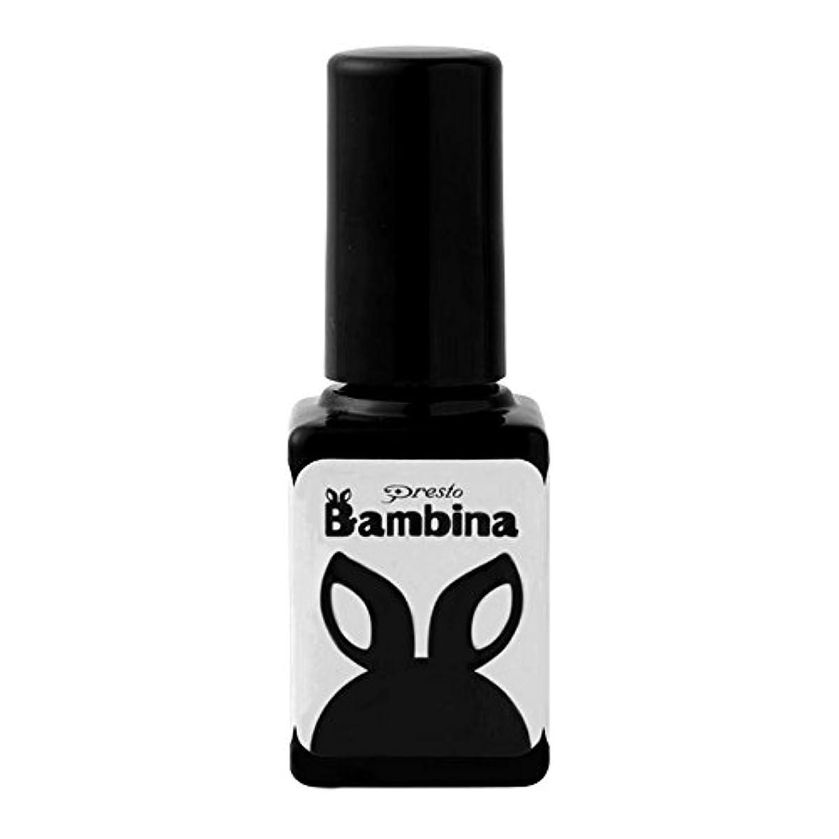 苗出くわす手Presto Bambina カラージェル 7g フレンチホワイト UV/LED対応