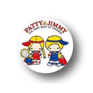 SC-05 パティ&ジミー キラキラ缶バッジ SANRIO サンリオ