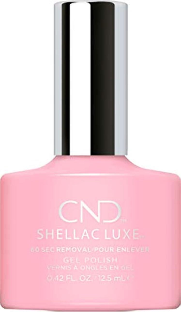 分析する後方にペチュランスCND Shellac Luxe - Be Demure - 12.5 ml / 0.42 oz