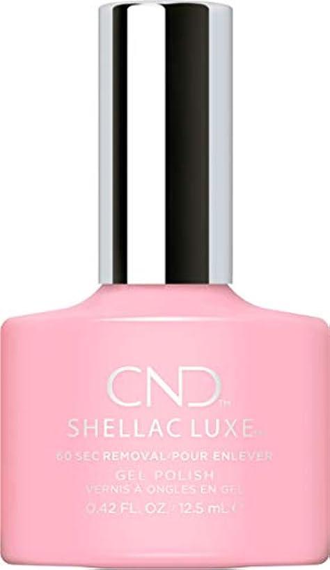 ほめる均等に接尾辞CND Shellac Luxe - Be Demure - 12.5 ml / 0.42 oz