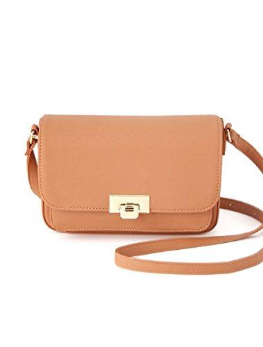 (ハニーズ グラシア)Honeys GLACIER PVCカードケース付Bag キャメル