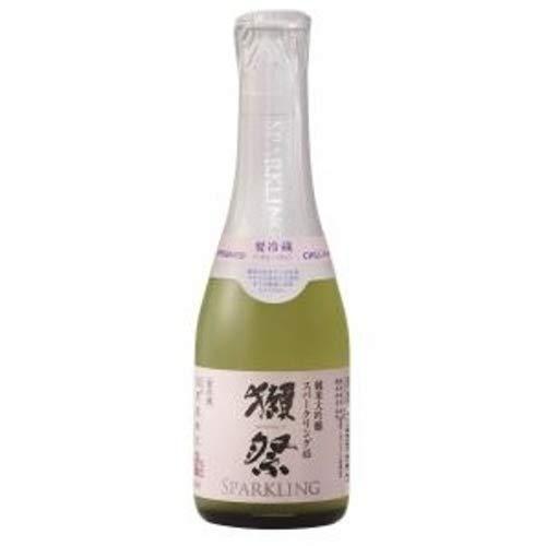 獺祭(だっさい) 純米大吟醸 発泡にごり酒 スパークリング50 ミニサイズ 180ml ■要冷蔵