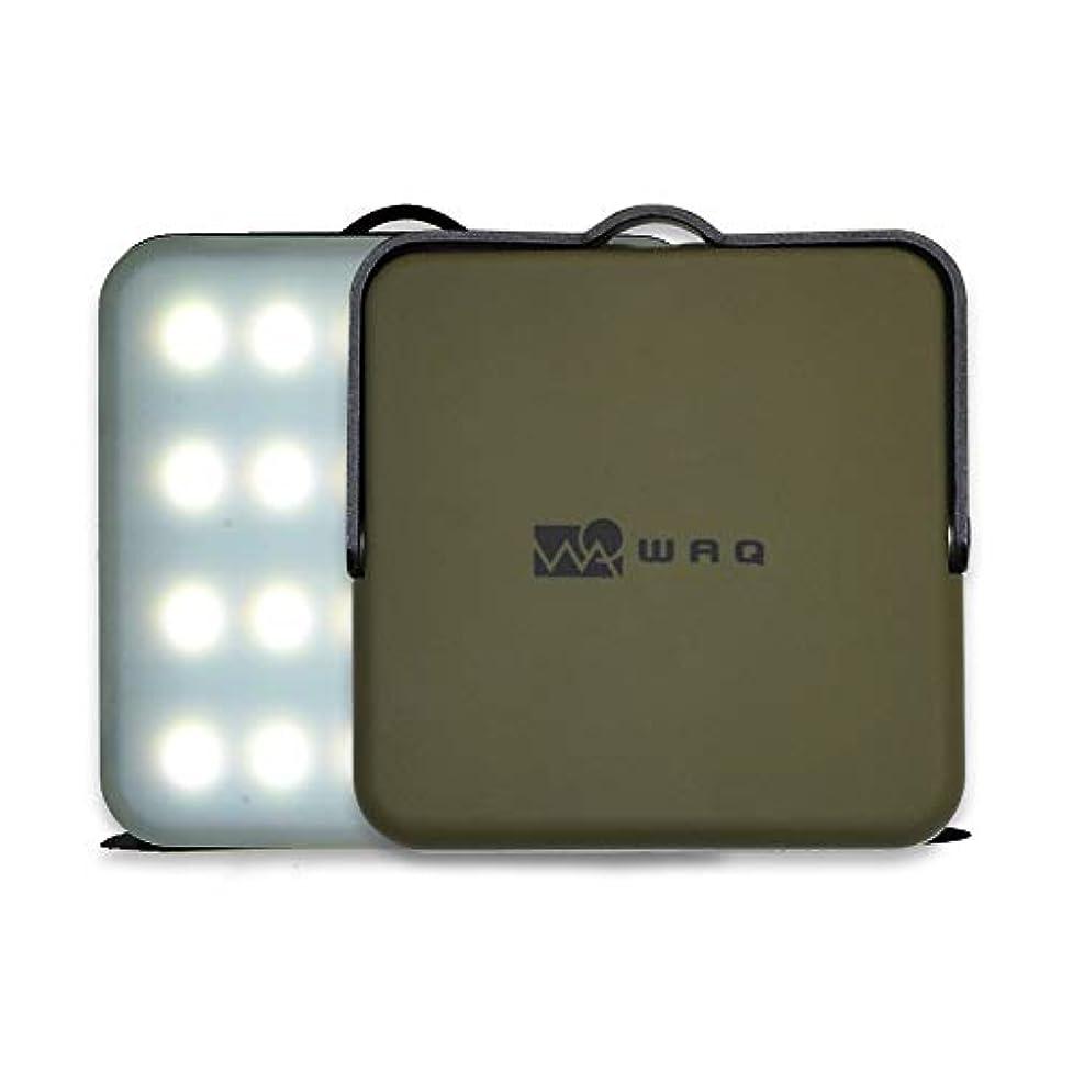 北へくまコンチネンタルWAQ LEDランタン 暖色 電球色 昼光色 USB充電式 モバイルバッテリー 10000mah 12調光モード アウトドア 防災 【1000ルーメン/連続点灯100時間/PSE取得済】