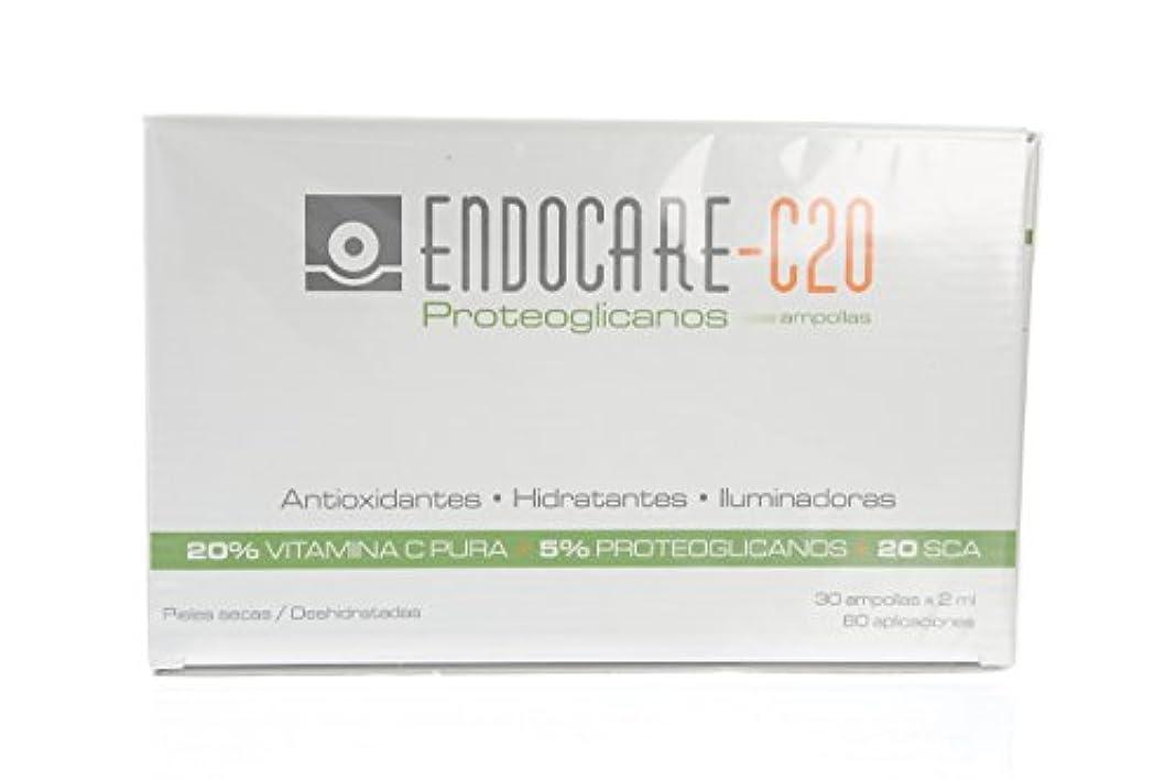 ピボット孤独な無限大ENDOCARE-C20 Proteoglicanos Ampollas 30x2ML