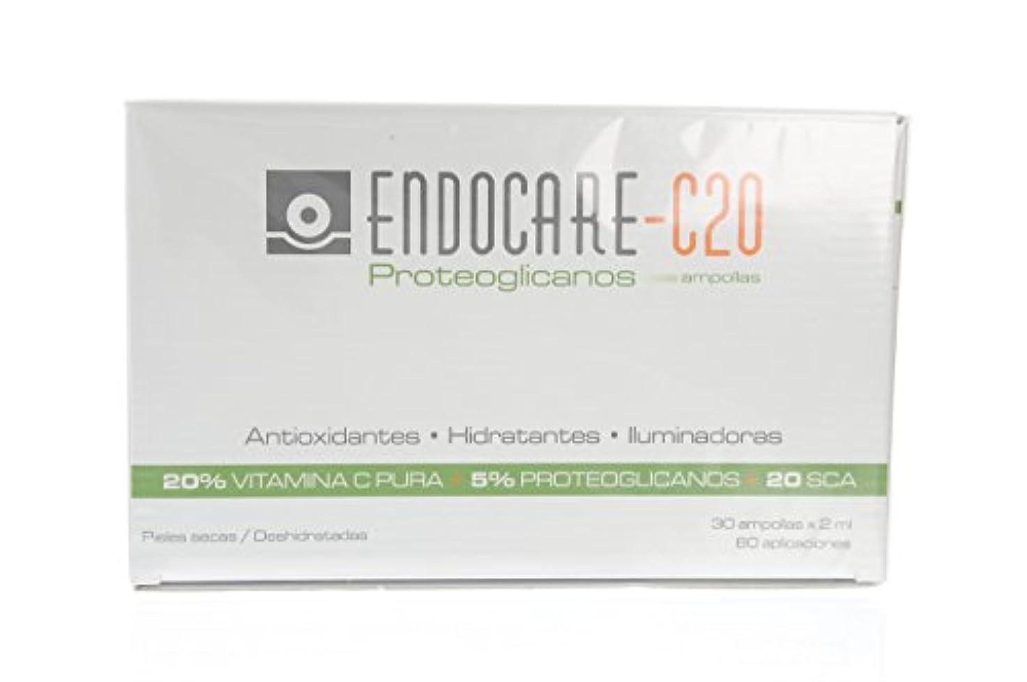 匹敵します一般的に想像力ENDOCARE-C20 Proteoglicanos Ampollas 30x2ML
