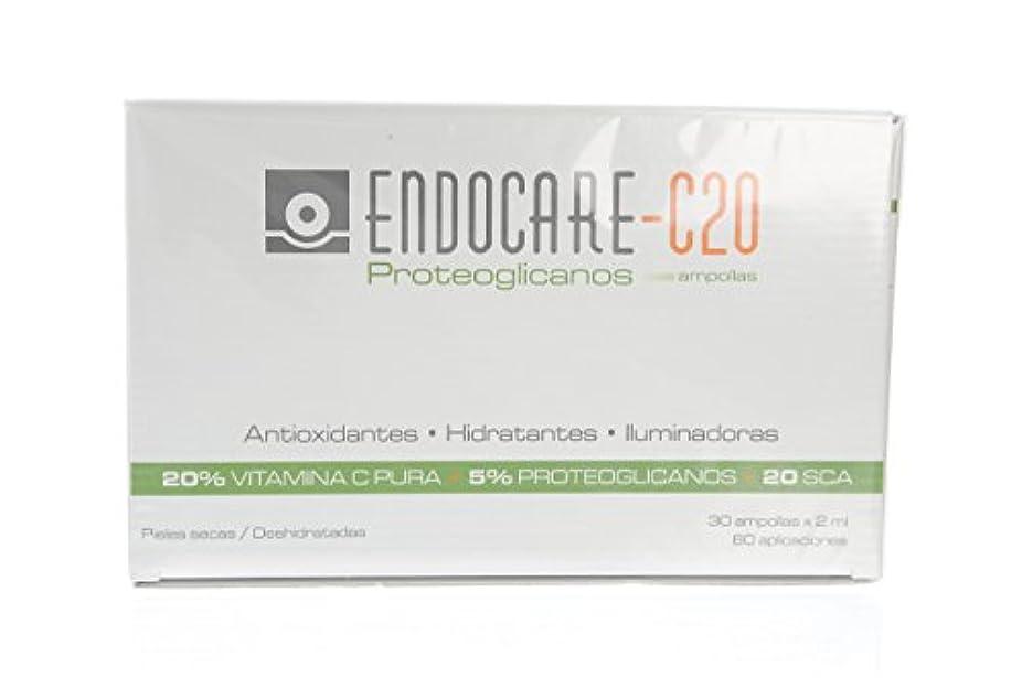 通り抜ける対抗中央値ENDOCARE-C20 Proteoglicanos Ampollas 30x2ML
