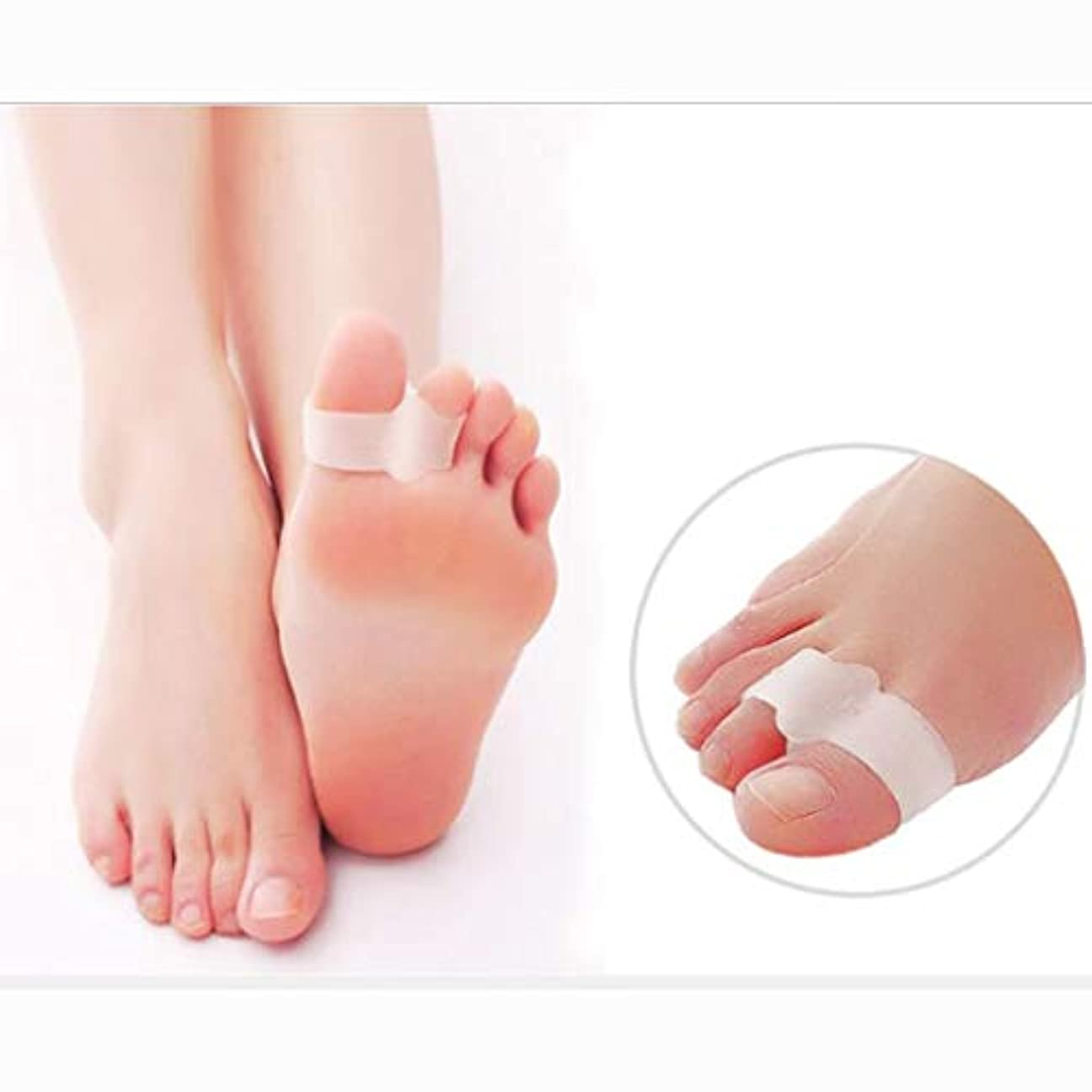 ナラーバー宇宙船ボール足矯正器-M-toe Eversion Hemper Toe Head Big Bone Toe Overlapping Finger Deviator (Size : S)
