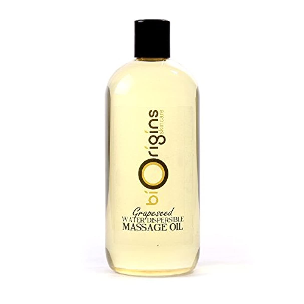 隣接モナリザ巻き取りGrapeseed Water Dispersible Massage Oil - 1 Litre - 100% Pure