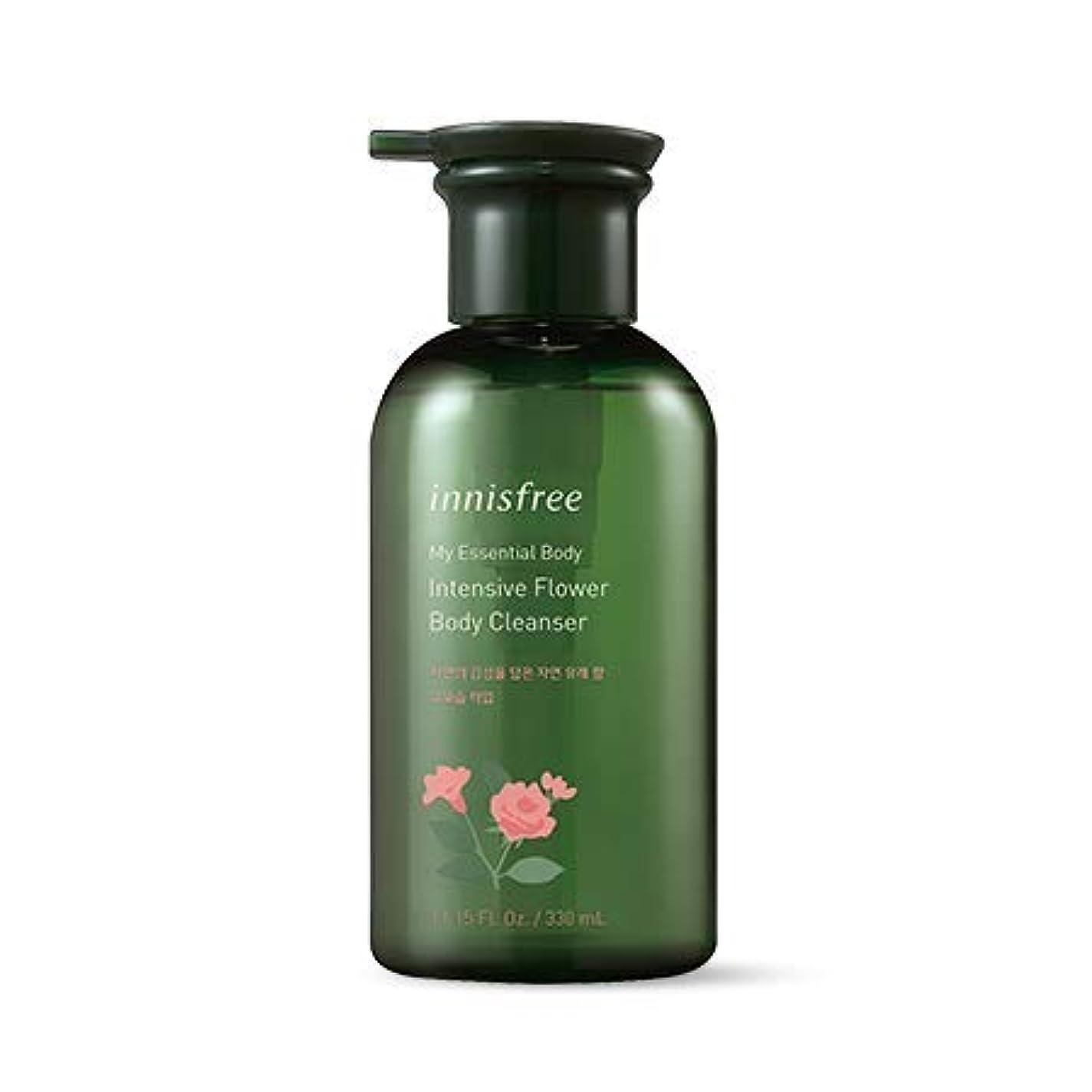 弾性レシピ文明[イニスフリー.innisfree]マイエッセンシャルボディインテンシブフラワーボディクレンザー330mL)2019 new)/ My Essential Body Intensive Flower Body Cleanser