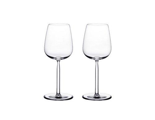 【正規輸入品】 iittala(イッタラ) Senta ホワイトワイン 29cl /190 mm 【2個入】