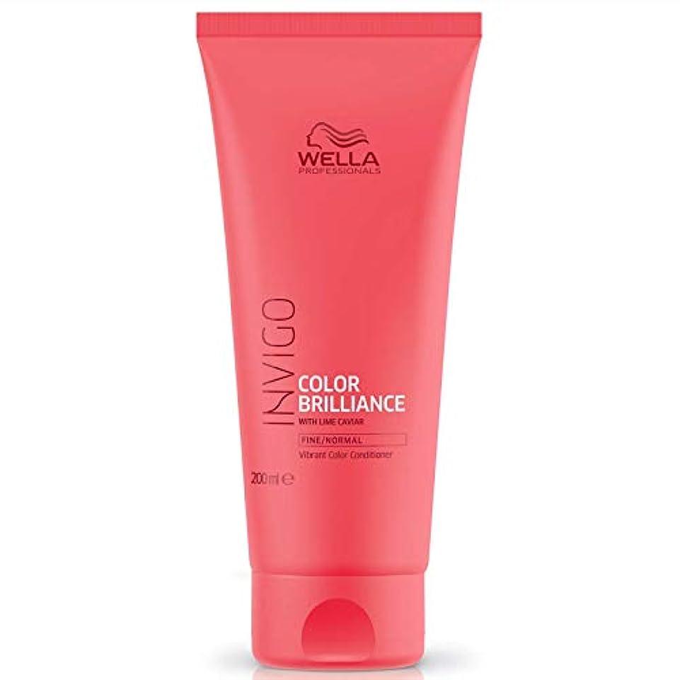 指定する重要な無数のウエラ インヴィゴ ファイン/ノーマル カラー コンディショナー Wella Invigo Color Brilliance With Lime Caviar Fine/Normal Vibrant Color Conditioner...