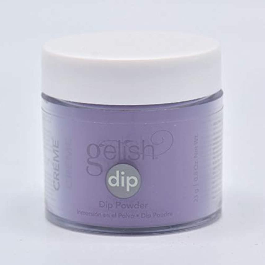 製造業政治的キラウエア山Harmony Gelish - Acrylic Dip Powder - Black Cherry Berry - 23g / 0.8oz