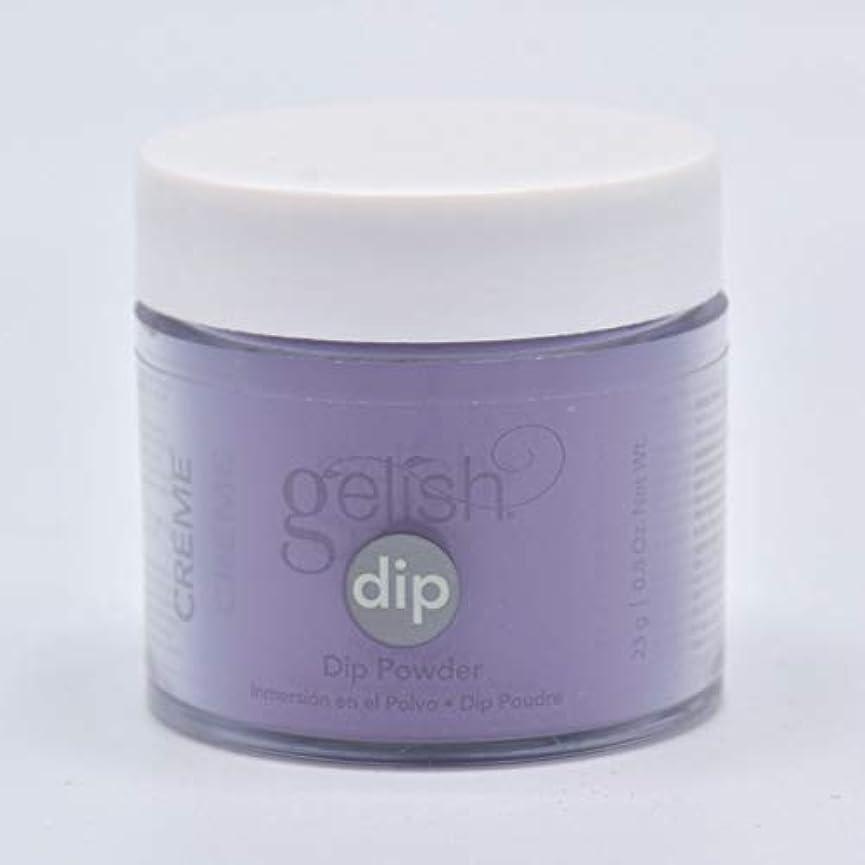 散髪緊張する外国人Harmony Gelish - Acrylic Dip Powder - Black Cherry Berry - 23g / 0.8oz
