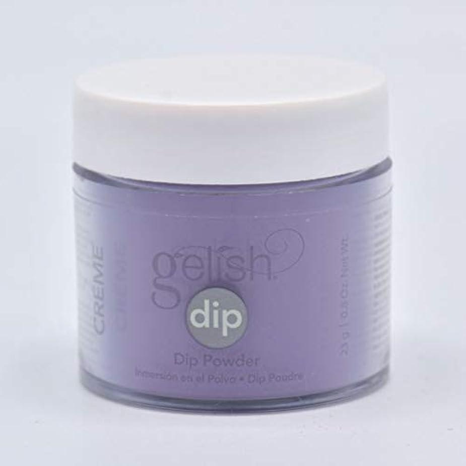 役職虫を数える農民Harmony Gelish - Acrylic Dip Powder - Black Cherry Berry - 23g / 0.8oz