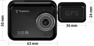 ドライブレコーダーユピテルDRY-WiFi40d 300万画素 wifi内臓モデル GPS Gセンサー搭載モデル