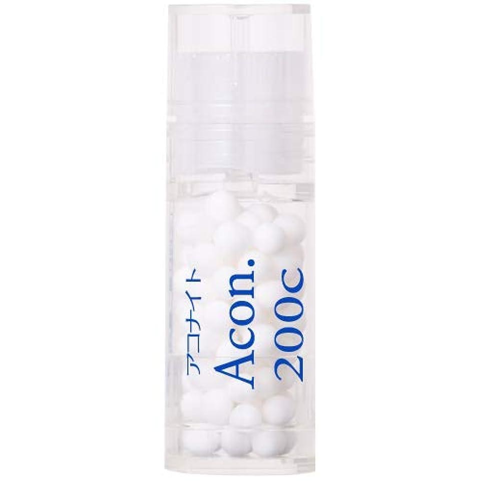 非常に怒っています下着本部ホメオパシージャパンレメディー Acon.  アコナイト 200C (大ビン)