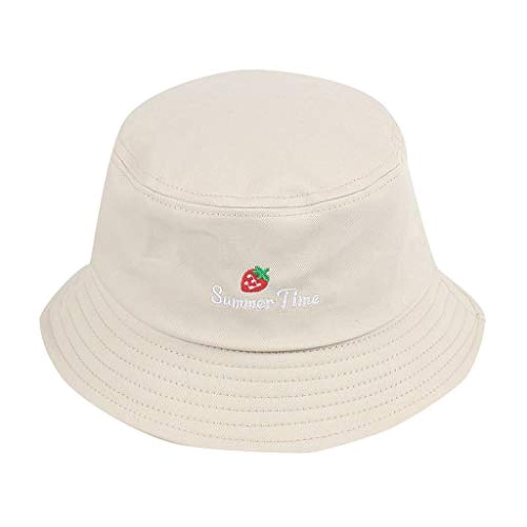 署名バレーボールクルーズ帽子 夏 発送 漁師の帽子 レディース ハットラップ 森ガール かわいい 吸汗通気 女優帽 日よけ UVカット 帽子 ハット レディース 棉 日よけ つば広 紫外線対策 小顔効果抜群 刺繍 いちご ROSE ROMAN