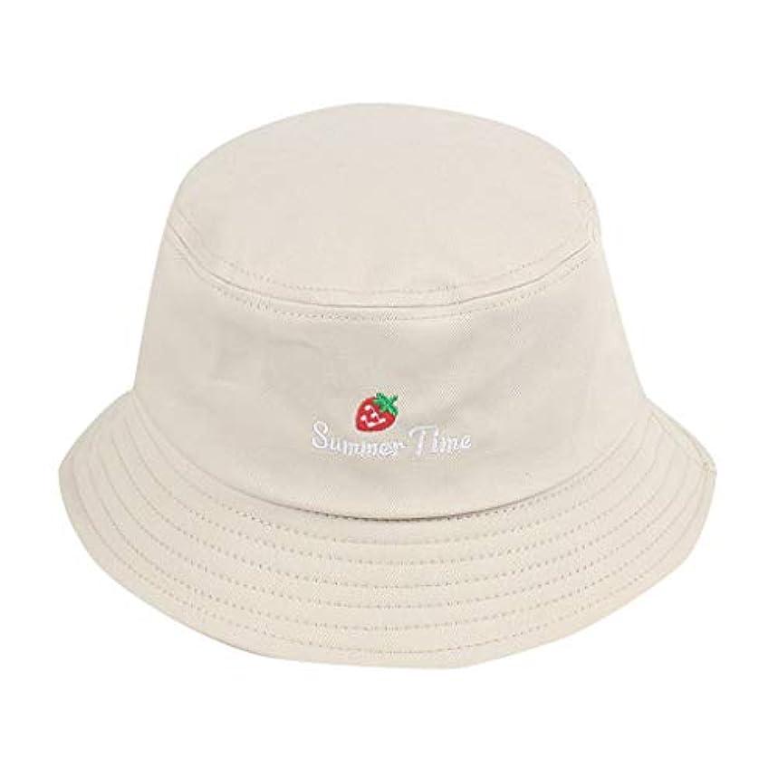副詞手荷物印象的な帽子 夏 発送 漁師の帽子 レディース ハットラップ 森ガール かわいい 吸汗通気 女優帽 日よけ UVカット 帽子 ハット レディース 棉 日よけ つば広 紫外線対策 小顔効果抜群 刺繍 いちご ROSE ROMAN
