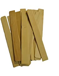 Perfect Stix 12 Wooden Paint Paddle Stirrer Sticks (Pack of 1000) [並行輸入品]