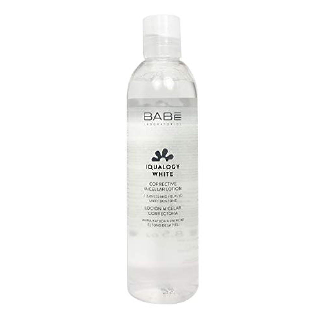 呼吸する宅配便理解するBab Iqualogy White Lotion Micelar Corretora 250ml [並行輸入品]