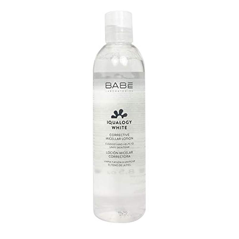 ビルマフェロー諸島喉が渇いたBab Iqualogy White Lotion Micelar Corretora 250ml [並行輸入品]