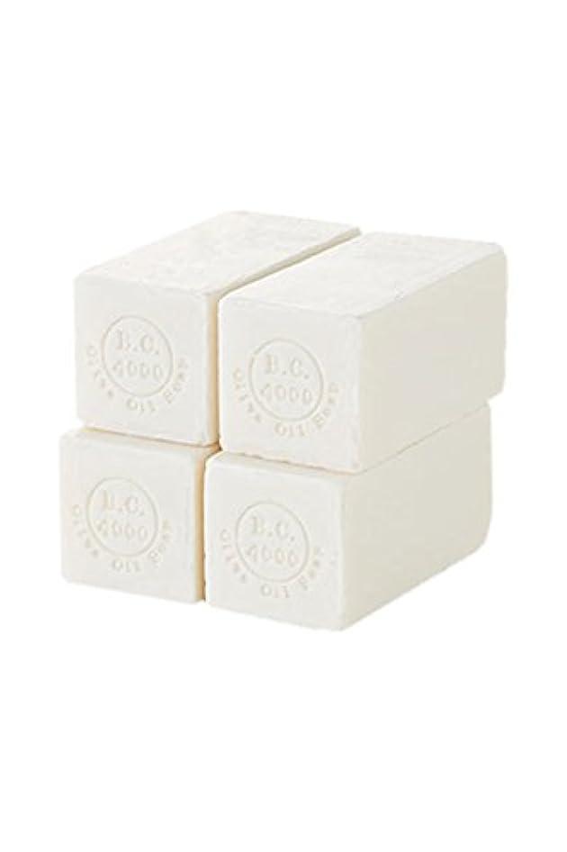 しおれた力性別100% バージンオリーブオイル石鹸 B.C.4000 オーガニック せっけん 50g 4個入