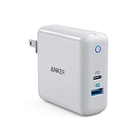 【12/1まで】Anker PowerPort Speed+ Duo(PD対応 42W 2ポート USB-A & USB-C 折りたたみ式プラグ採用急速充電器) 2,093円送料無料!【Amazonブラックフライデー】