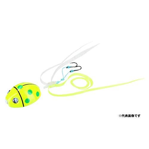 ダイワ(DAIWA) メタルジグ 紅牙 ベイラバーフリーα 中井レディバグ 45g ドットレモン