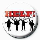 ロック『ビートルズ《help!》』缶バッジ