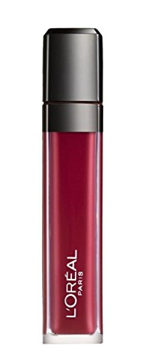 ショート受信スツールL´OREAL PARIS MATTE 407 Smoke me Up Lipgloss Glossy Rot