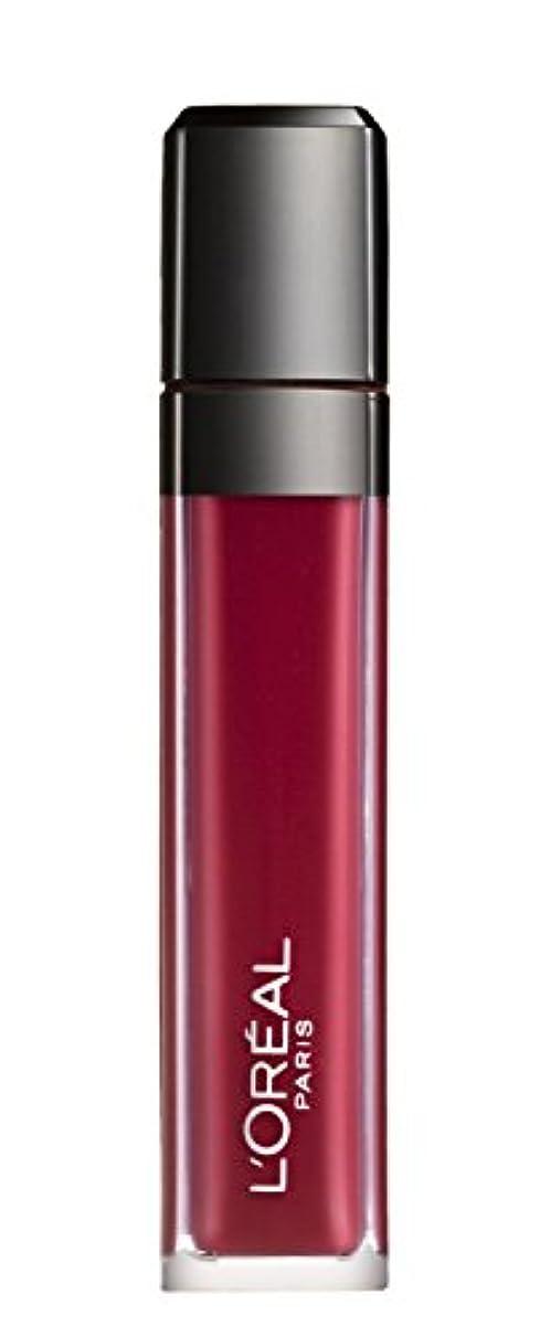 裁量分散ドリルL´OREAL PARIS MATTE 407 Smoke me Up Lipgloss Glossy Rot