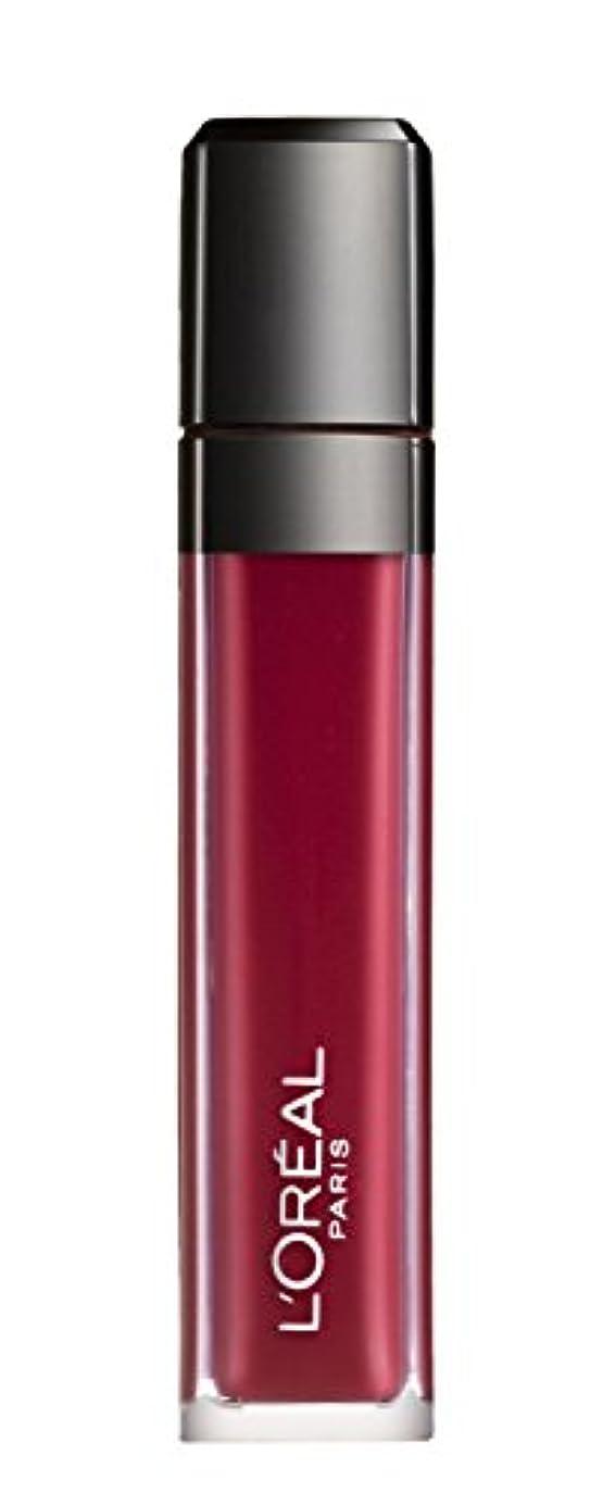 風味規範地球L´OREAL PARIS MATTE 407 Smoke me Up Lipgloss Glossy Rot
