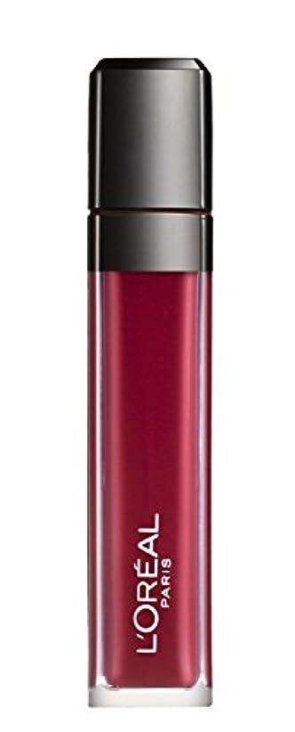 自動化髄ハプニングL´OREAL PARIS MATTE 407 Smoke me Up Lipgloss Glossy Rot