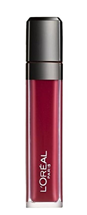 有益マイクロ解体するL´OREAL PARIS MATTE 407 Smoke me Up Lipgloss Glossy Rot