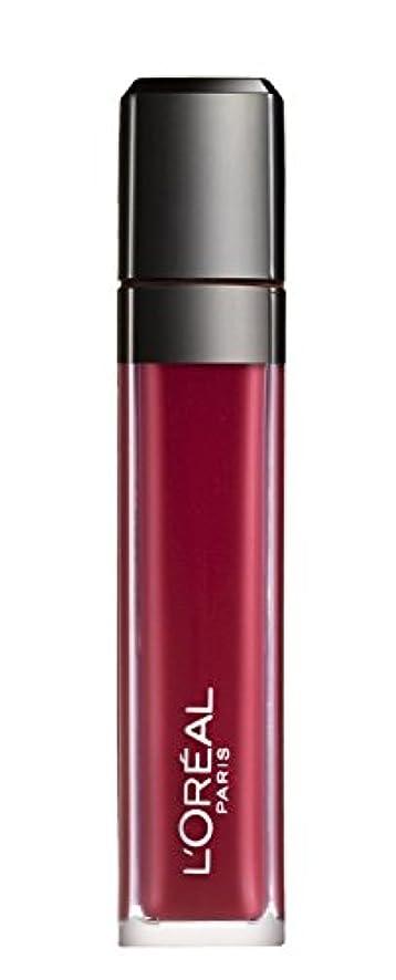 類似性負ディスコL´OREAL PARIS MATTE 407 Smoke me Up Lipgloss Glossy Rot