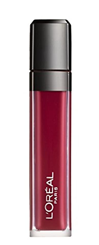 漁師チャペルにもかかわらずL´OREAL PARIS MATTE 407 Smoke me Up Lipgloss Glossy Rot