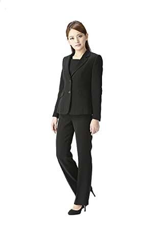 (マーガレット)marguerite m625 ブラックフォーマル ジャケット ブラウス パンツの3点セット レディース 礼服
