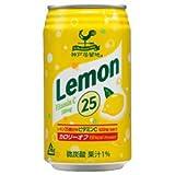 富永貿易 神戸居留地 レモン25 350ml缶×24本入×(2ケース)
