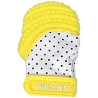 Munch Mitt Mini Baby Teething Mitten - Yellow by Munch Mitt [並行輸入品]