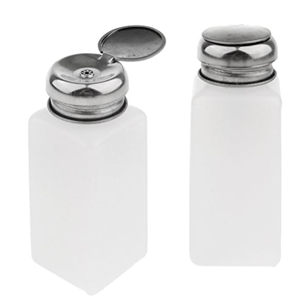 工業化する迫害する汚れるポンプディスペンサー ネイル 空ポンプボトル ネイルクリーナーボトル 実用的 2個 全3サイズ - 250ミリリットル
