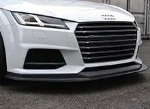 AUDI TTS/TT S-line 2015- Front lip spoiler Carbon bTTf-001