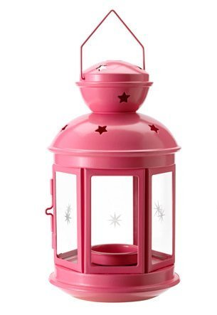 RoomClip商品情報 - ROTERA Lantern includes tealight candle  ピンク