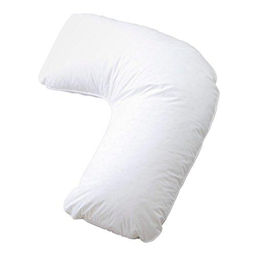 【抱き枕 枕 フォスフレイクス サイドウェイズ L字】フォスフレイクス サイドウェイズ(L字) ホワイト(B736-S1)