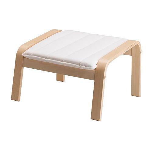 ★POANG/フットスツール/バーチ材突き板/アルメ ナチュラル[イケア]IKEA(S39864563)