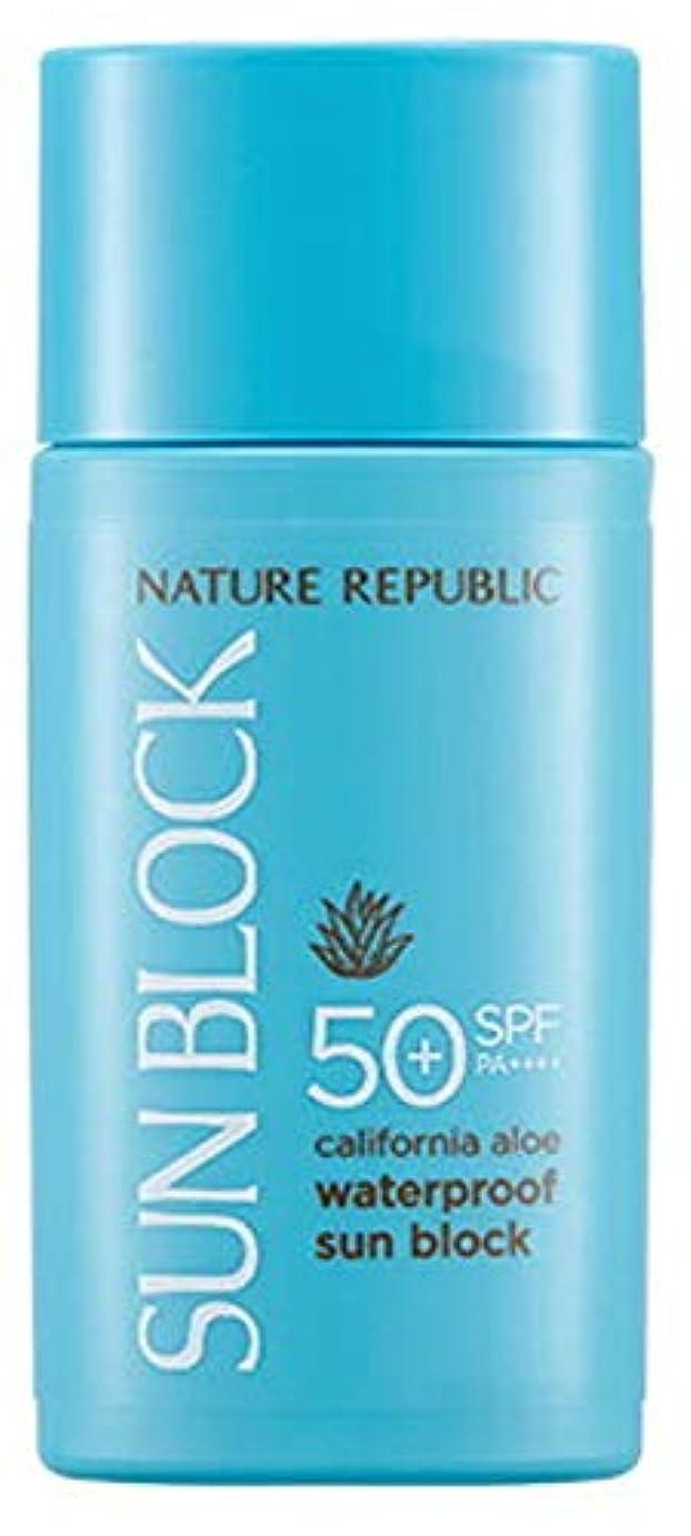 スクレーパー光許さない正規輸入品 NATURE REPUBLIC(ネイチャーリパブリック) CA AL ウォータープルーフ サンブロック SPF50+ PA++++ 60ml