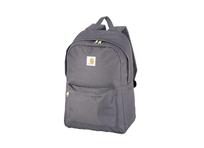チャンバー苛性バウンドCARHARTT Trade Backpack GREY カーハート トレード バックパック グレー 10030132