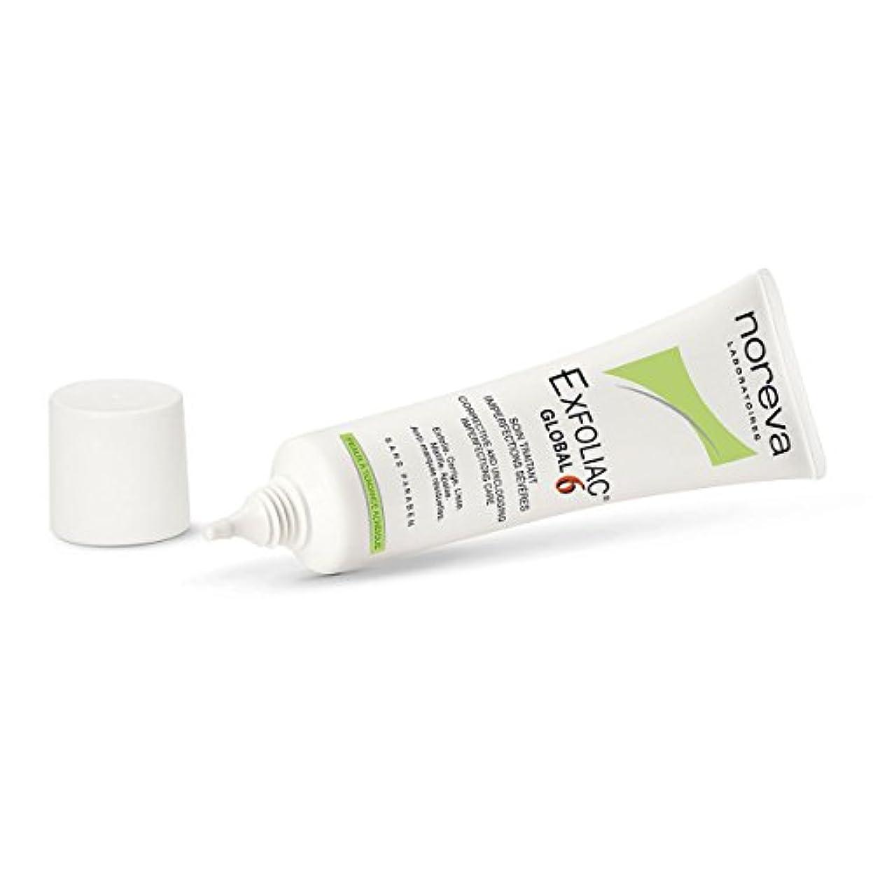 反動数字商品Noreva Exfoliac Global 6 30ml [並行輸入品]