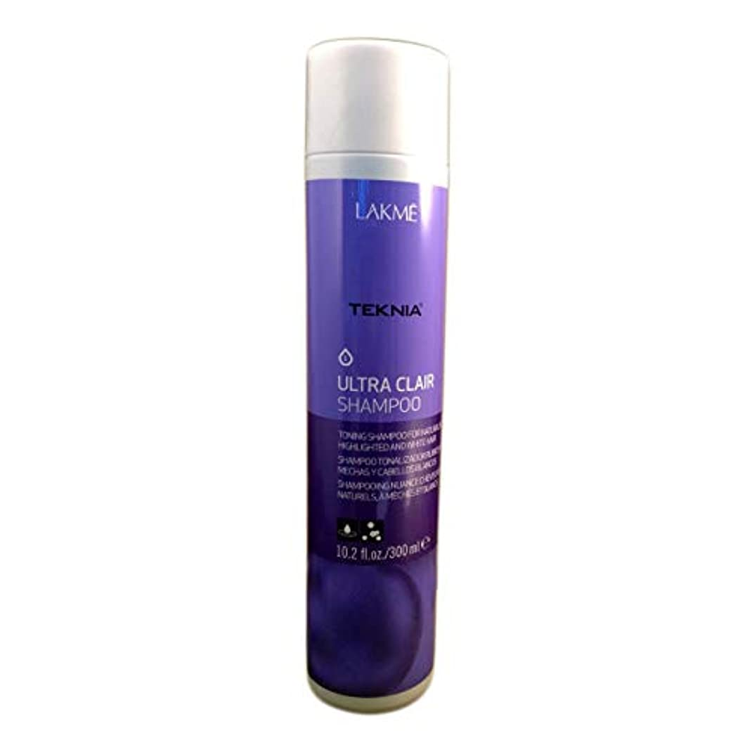 食事保持する苦難Lakme Teknia Ultra Clair Shampoo 10.2 Oz (300ml)